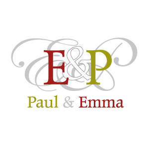 Monogramme couple Emma et Paul